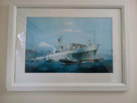 Ben alder, ship print