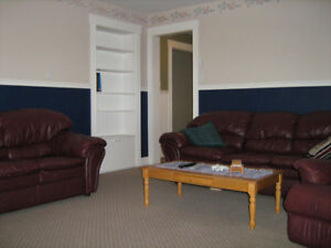 FOR SALE - LEATHER FURNITURE & TV
