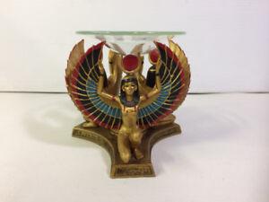 Porte-Chandelle Style Egyptien Pharaon