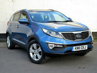 Kia Sportage 1.7CRDi 2**DIESEL**NEW SHAPE**FSH**58MPG**KENWOOD COLOUR SAT NAV**