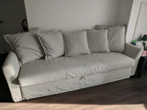 IKEA Holmsund Couch with Pullout Bed