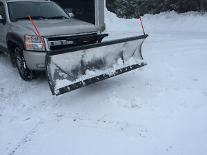 4 year old 26 series 7-1/2' sno-way plow everything included