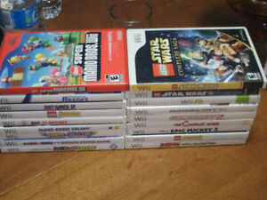 Nintendo Wii consoles and games