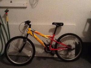 Vélo pour garçon- 24 pouces- 18 vitesses!