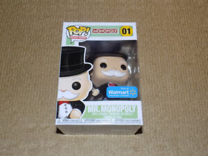 FUNKO, POP, MR. MONOPOLY, BOARD GAMES #01, VINYL FIGURE, NM