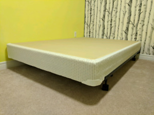 Double Boxspring and metal frame $50 sold PPU