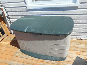 outdoor deck container