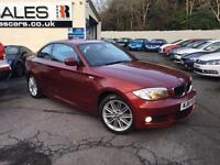 2011 61 BMW 1 SERIES 2.0 118D M SPORT 2D [AUTOMATIC] 141 BHP DIESEL