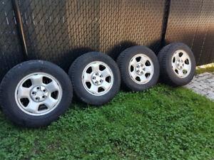 245  65  R17  roue honda