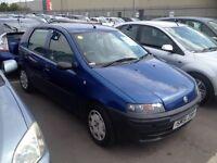 Fiat punto 2001. MOT. TAX