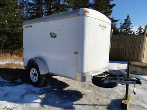 Enclosed Doolittle Cargo Trailer 4 ½' x 8 ½'