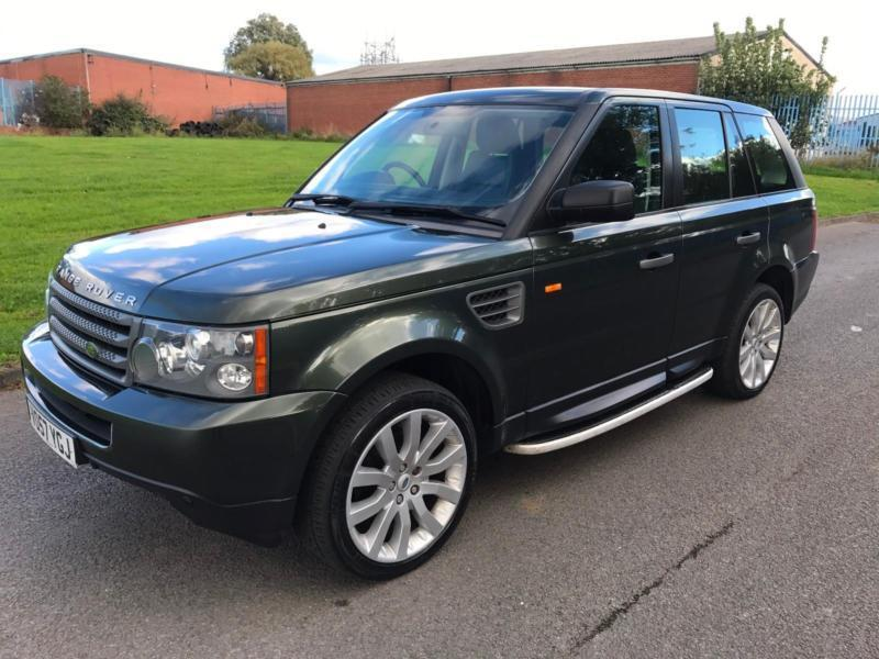 Land Rover Range Rover Sport 2.7TD V6 Auto S - 07/57 - Only 91K - FSH - 2 Keys -