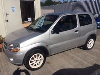54 Suzuki Ignis 1.3 GL 3dr - FULL MOT - Only 70,000 Miles - Alloys - Ideal 1st Car - PX WELCOME