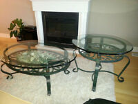 Brand New Cast Iron Coffee Tables
