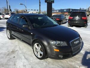 Audi A3 HATCHBACK-6 VITESSES-JAMAIS ACCIDENTER 2007