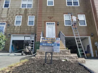 Get that Exterior painting done before the snow comes
