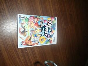 WII BIRTHDAY PARTY BASH GAME-NEW!