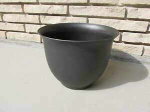 Dark Brown Plant Pot with Drainage Insert