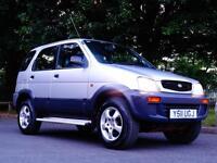 2001 Y Daihatsu Terios 1.3 Automatic..LOW MILES..VERY RARE AUTOMATIC MODEL !!