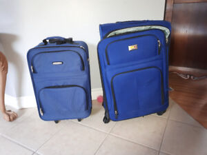 Suitcases sold separately  prices in add