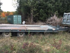 20t float trailer