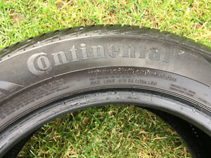 4 Continental 3 ply rayon  205/55 R 16