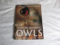 UNDERSTANDING OWLS BY JEMIMA PARRY-JONES, MINT CONDITION