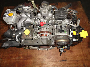 JDM SUBARU WRX EJ20 TURBO ENGINE WITH OUT AVCS SENSOR Gatineau Ottawa / Gatineau Area image 1