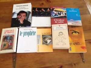lot de livres pour Cégep / Université