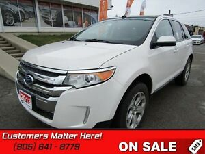 2013 Ford Edge SEL   AWD, LEATHER, PANORAMIC ROOF, NAVIGATION!