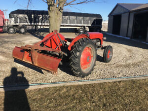 Massey Ferguson Tractor with blade