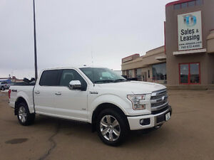 2016 Ford F-150 Platinum LOW KMS/4x4/NAV/HEATED SEATS/ECOBOOST