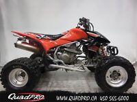 2008 Honda TRX450R 19,42$/SEMAINE
