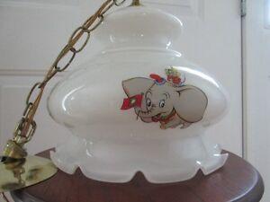 VINTAGE DISNEY CHARACTERS PENDANT LAMP