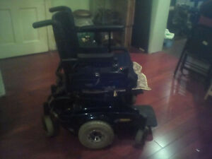 Electric wheelchair with specialty gel cushion