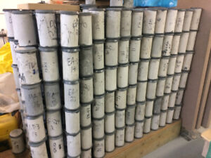 Free Concrete Cylinders