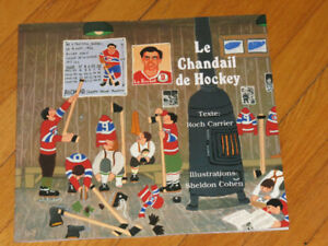 ROCH CARRIER / LE CHANDAIL DE HOCKEY
