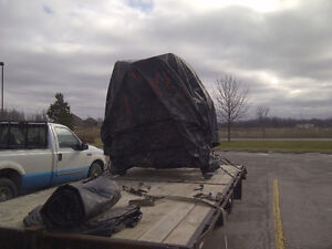 Truck and 25' Flat Bed Trailer London Ontario image 3
