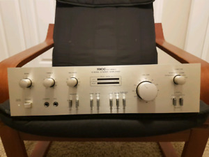 Vintage IC-600A stereo amplifier
