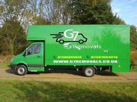 FROM £20 LUTON VAN 7.5 TONNE TRUCK HIRE WITH DRIVER CHEAPEST HOUSE REMOVALS FULLY INSURED