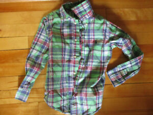 Ralph Lauren size 5 boy's dress shirt