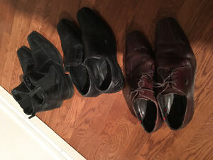 Buggati,Boss and Aldo me's shoes and boots