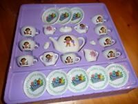 """Dora"" china tea set"