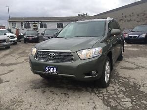 2008 TOYOT HIGHLANDER AWD NAVIG LEATHER AUTO CERTIFIED & E-TEST London Ontario image 3