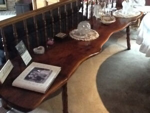 Fireplace mantle table counter walnut Judd Gunstocks