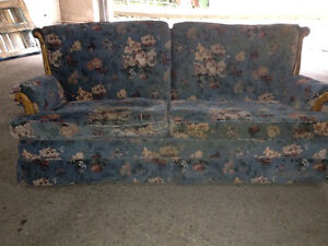Chesterfield with day bed