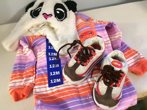 New baby clothes and shoes
