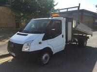 2013 Ford Transit 2.2 TDCi 350 M 125 Tipper with Toolbox Manual Tipper