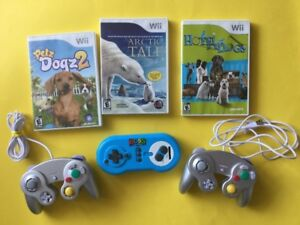 Manettes Style Gamecube - Artic Tale, Petz, Hotel dogs
