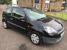 5707 Ford Fiesta 1.25 Studio Black 3 Door 77861mls